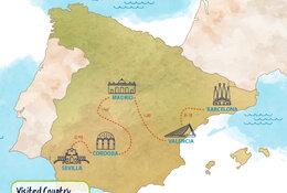 Cataluna & Andalucia