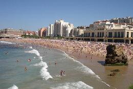 Biarritz by train