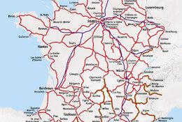 Rail Map France