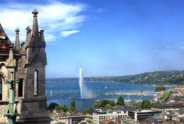 Geneva by Train