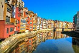 Girona by train