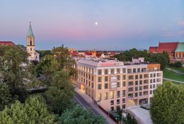 Hotel near the railway station of           Brasov