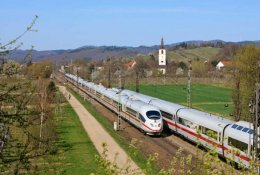 Trains Berlin to Freiburg