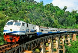 Indonesia by train