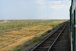 Kazachstan by train
