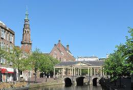 Leiden by train