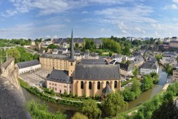 Luxembourg by Train