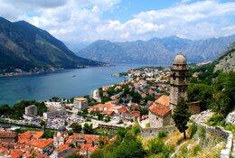 Montenegro per trein