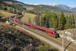 Austria by train