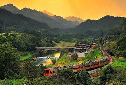 Taiwan by train