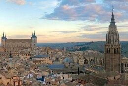 Toledo by Train