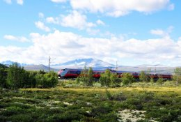 Trains to Andalsnes