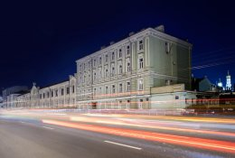 Hotel near the railway station of           Moscow