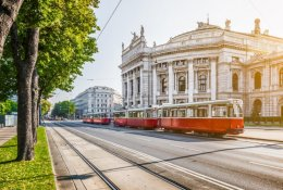 Vienna by train