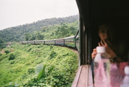 Vietnam by train