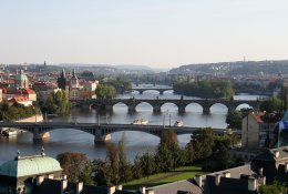 Prague by train