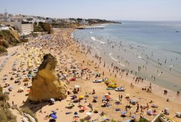 Albufeira by train
