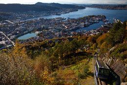 Bergen per trein