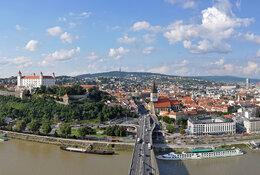 Bratislava by train