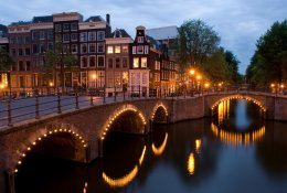 Amsterdam by train