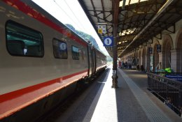 Bolzano by train
