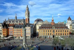Lille by train