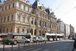Lyon per trein