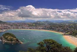 San Sebastian, Leon, Pamplona by train