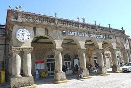Santiago de Compostela per trein