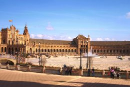 Seville by train