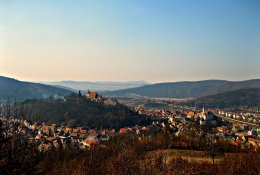 Sighisoara by train