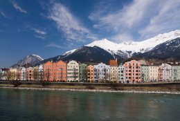 Innsbruck by train