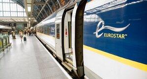 Trein naar Londen - Eurostar