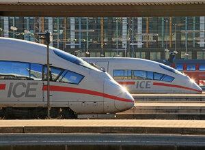 ICE - High Speed Train Germany