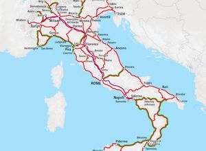 Treinreizen in Italie