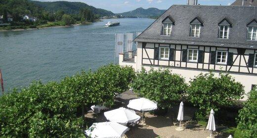 Trein en Hotel Unkel - Rheinhotel Schultz