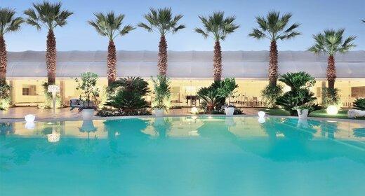 Vakantie Campanie-trein en hotel-Paestum Esplanade