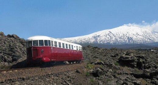 Sicilie per trein