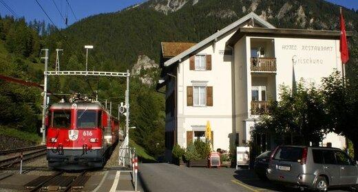 Vakantie Filisur - Trein en Hotel - Grischuna