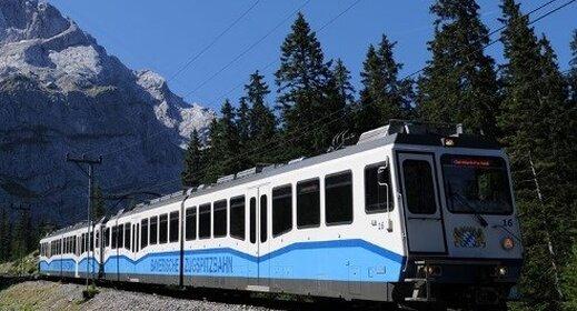 per trein door de Alpen