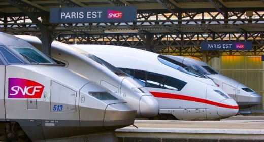 HSL treinen Europa