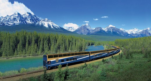 The Rocky Mountaineer Canada