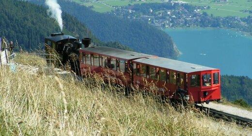 Vakantie Salzkammergut Bad Ischl - Trein en Hotel - Stadt Salzburg