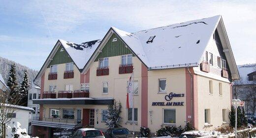 Wintersportvakantie Winterberg Willingen   trein en hotel   Hotel am Park