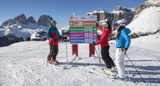 Wintersportvakantie Campitello Val di Fassa - Trein en Hotel - Hotel Sella Ronda***