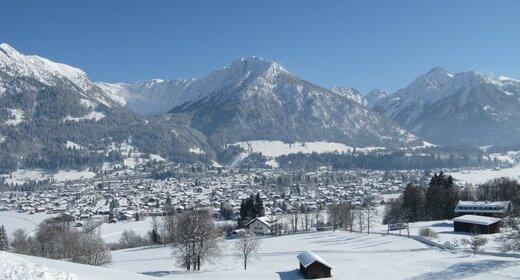 Vakantie Oberstdorf   trein en hotel   zur Post