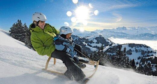 Wintersportvakantie Rigi, Zwitserland, Hotel Alpina