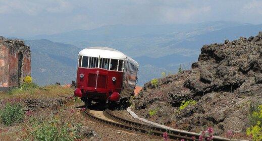 Sicilie per trein - Klein treintje