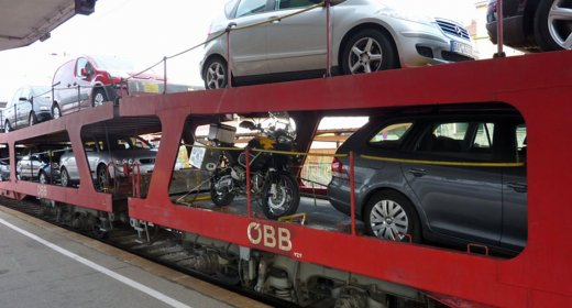 Autozug Hamburg - Wien   Autoreisezug Osterreich