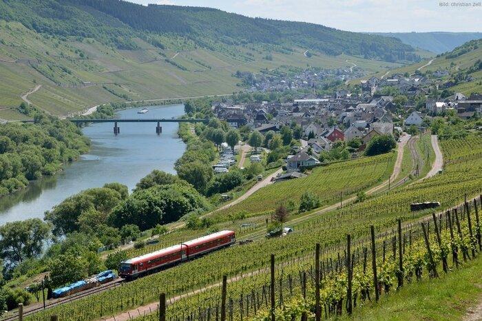 Treinvakantie Moezel, Duitsland
